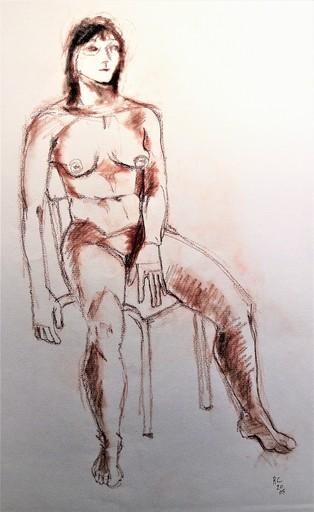 R.CAVALIÉ - Drawing-Watercolor - N.R. 152