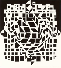 Victor VASARELY - Print-Multiple - Citra From NB Cinetique