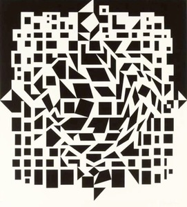 Victor VASARELY - Stampa Multiplo - Citra From NB Cinetique