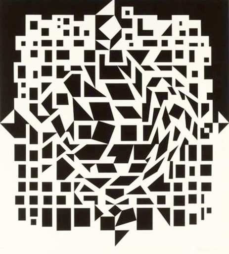 Victor VASARELY - Estampe-Multiple - Citra From NB Cinetique