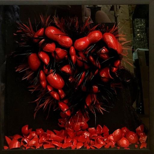 BOROSKI - Scultura Volume - Coeurs brisés