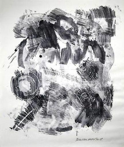 Robert RAUSCHENBERG - Estampe-Multiple - Loop – Stoned Moon