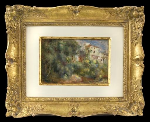 奥古斯特•雷诺阿 - 绘画 - Paysage de Cagnes