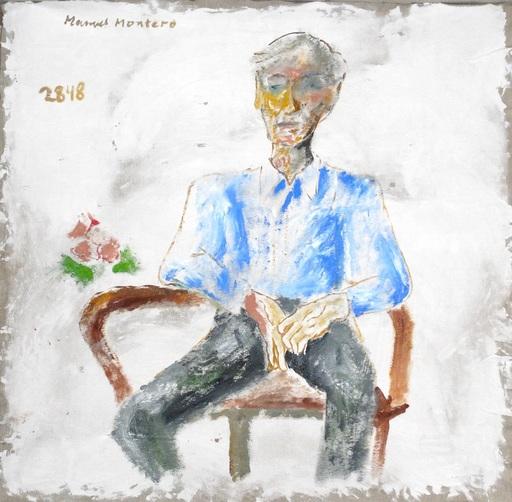 Manuel MONTERO - Peinture - Portrait de Gunnar Nerdrum