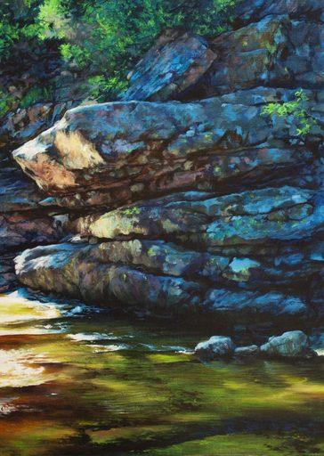 Guillaume MONTIER - Painting - « L'esprit du lieu »
