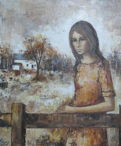 Louis-Ferdinand CÉLINE - Painting - At the Ranch