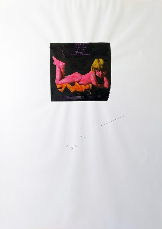 Mario SCHIFANO - Pintura - Senza titolo