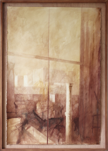 Pedro CANO - Zeichnung Aquarell - Sunday afternoon