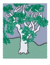 Roy LICHTENSTEIN - Print-Multiple - Rain Forest