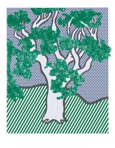 Roy LICHTENSTEIN - Stampa Multiplo - Rain Forest