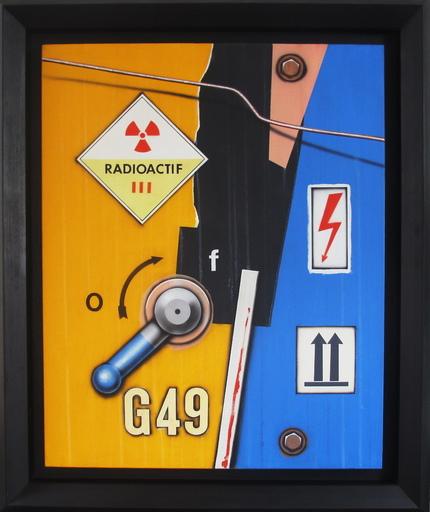 Peter KLASEN - Painting - Manette G49 Radioactif III