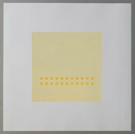 Antonio CALDERARA - Print-Multiple -  Luce spazio immagine (Tav. 7)
