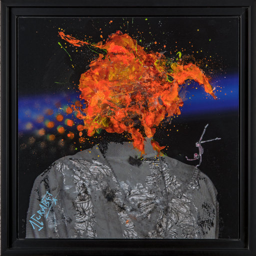 Jean-Luc CURABET - Painting - Errabunda