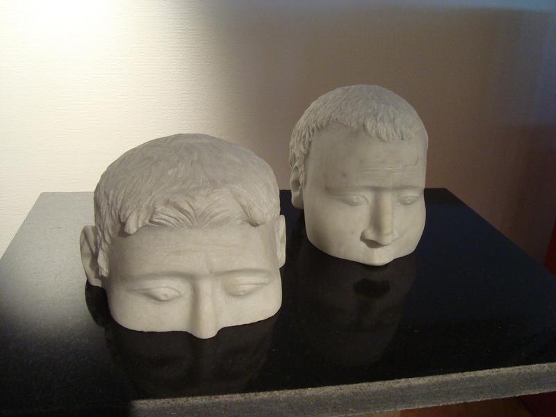 Viktor Ivanovich KORNEEV - Escultura - Silence
