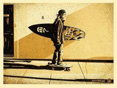 Shepard FAIREY - Estampe-Multiple - Jeff Ho Zephyr