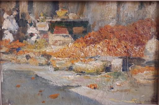 Joan ROIG Y SOLER - Painting - MERCADO