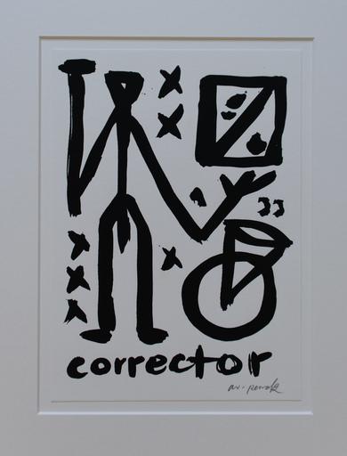A.R. PENCK - Grabado - Corrector