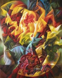 Ivan TURETSKYY - Peinture - Light from the Past