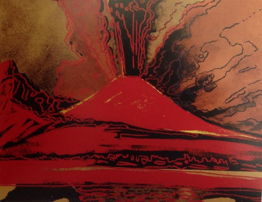 安迪·沃霍尔 - 版画 - Vesuvius