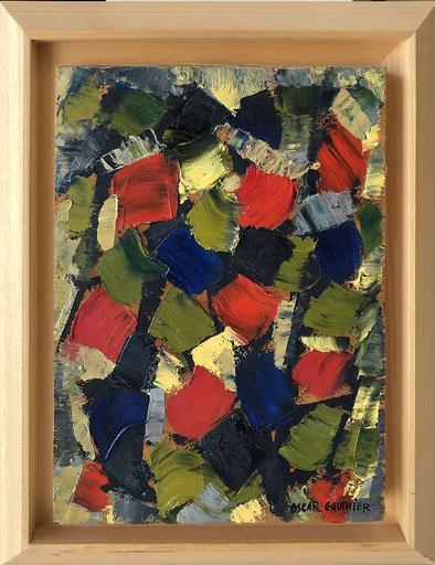 Oscar GAUTHIER - Pittura - Abstract Composition
