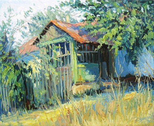Yuriy DEMIYANOV - Gemälde - vêranda