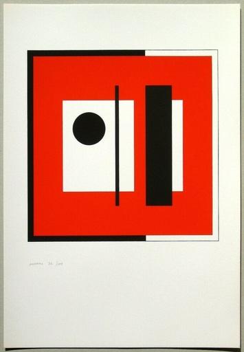 Bruno MUNARI - Print-Multiple - Anche la cornice