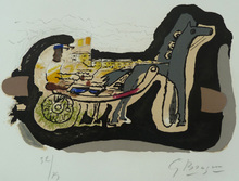 Georges BRAQUE - Print-Multiple - Grouse