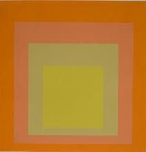 Josef ALBERS - Estampe-Multiple - Composition Nine, from: Homage to the Square
