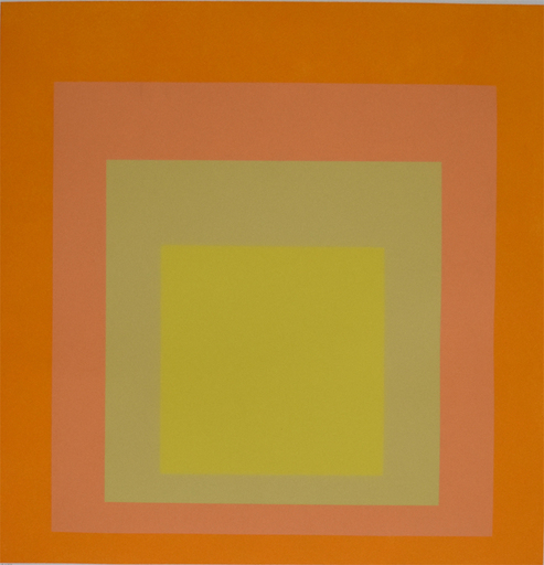 Josef ALBERS - Print-Multiple - Composition Nine, from: Homage to the Square