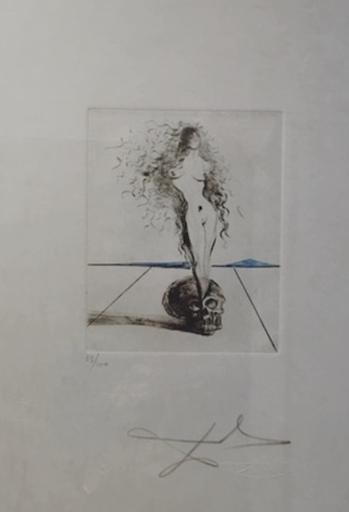 萨尔瓦多·达利 - 版画 - The Magicians Vanite