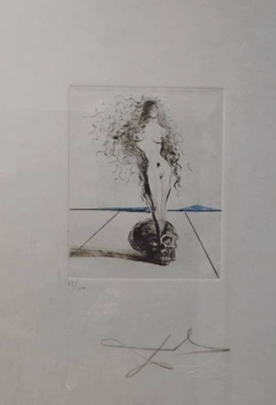 Salvador DALI - Stampa-Multiplo - The Magicians Vanite