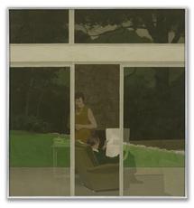 Michael LEONARD - Painting - Afternoon Tea