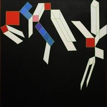 Achille PERILLI (1927) - A DAVID RENDE VISITA MALEVIC