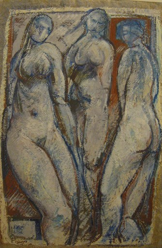 Fabio PISCOPO - Painting - Nus