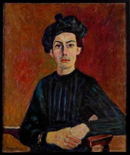 Czeslaw RZEPINSKI - Gemälde - Portrait of a Woman