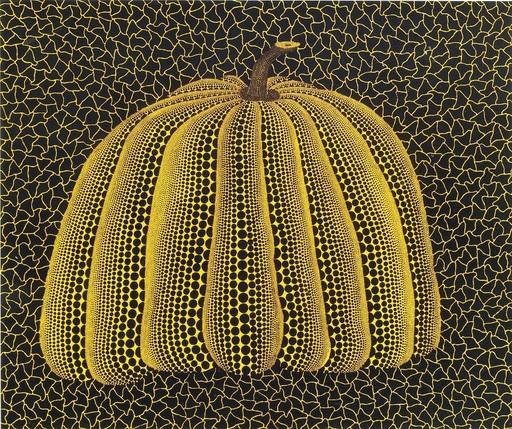 Yayoi KUSAMA - Estampe-Multiple - Pumpkin Yellow