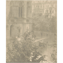 Alfred STIEGLITZ - Photo - Snapshot--From My Window