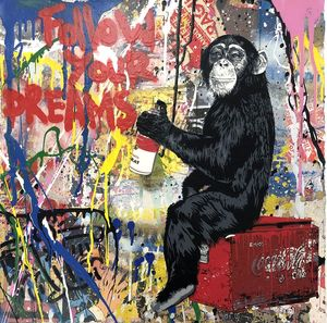 MR BRAINWASH - Painting - Everyday Life