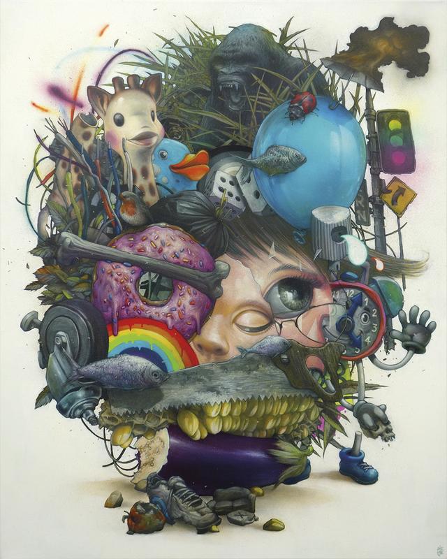 BOM K. - Painting - N'importe quoi
