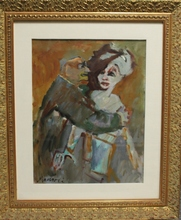 Mino MACCARI - Painting - Commendatore