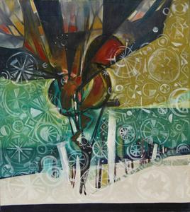Donald DESKEY - Pintura - Dear Diary