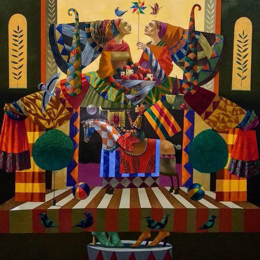 Bobur ISMOILOV - Peinture - duality