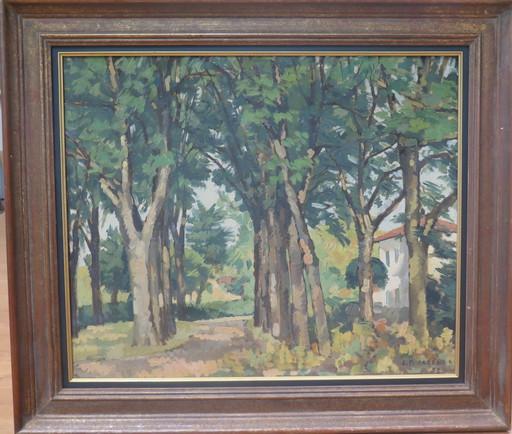 Lucien-Pierre CADENE - Pintura - Sainte Maffre