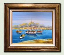 BORON - Painting - En attendant les vents favorables