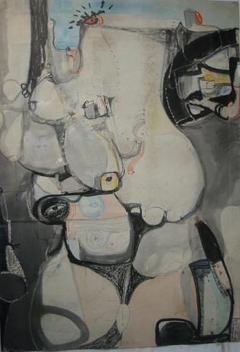 Silvio PASOTTI - Gemälde - Composizione
