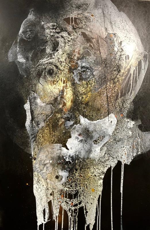 Joëlle ROUSSELET - Painting - Paysage d'äme P33