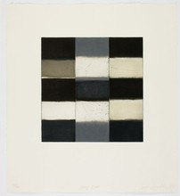 Sean SCULLY - Print-Multiple - Gray Robe