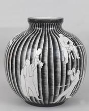 Giò PONTI (1891-1979) - Vaso con pugili