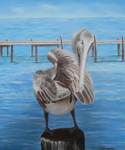 Fabienne DELORD-DESCOURVIERES - Peinture - Pelican