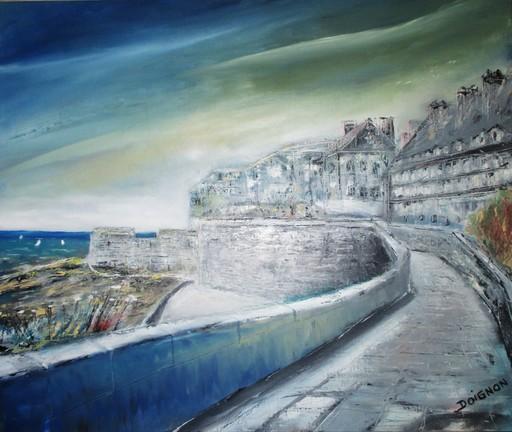 Didier DOIGNON - Pintura - Remparts de St Malo